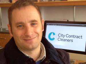 About City Contract Cleaners Director, Martin McCartney