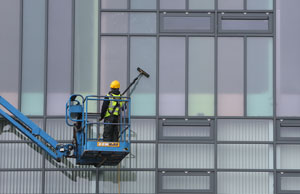 Commercial Window Cleaning by City Contract Cleaners